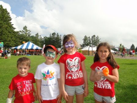 Kids enjoy the Come Celebrate in Brockton event in July